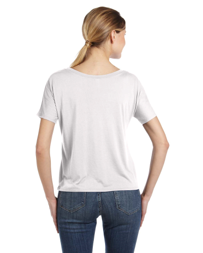Ladies' Slouchy T-Shirt back Image