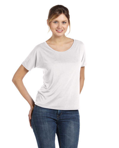 Ladies' Slouchy T-Shirt front Image