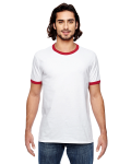 Adult Lightweight Ringer T-Shirt front Thumb Image