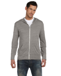 Men's Eco Long-Sleeve Zip Hoodie front Thumb Image