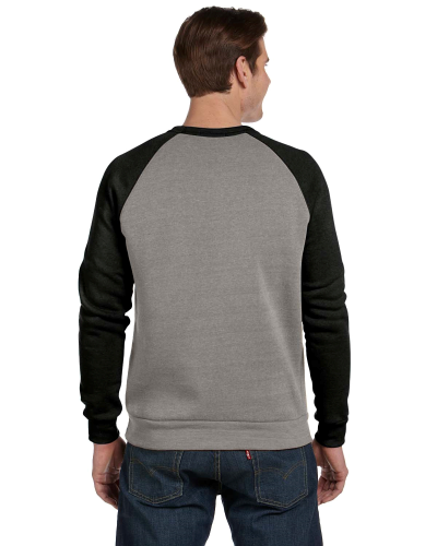 Unisex Champ Color-Blocked Fleece Crew back Image
