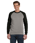Unisex Champ Color-Blocked Fleece Crew front Thumb Image