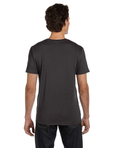 Men's 3.5 oz. Organic Basic Crew back Image