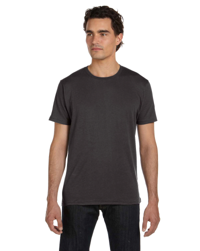 Men's 3.5 oz. Organic Basic Crew front Image
