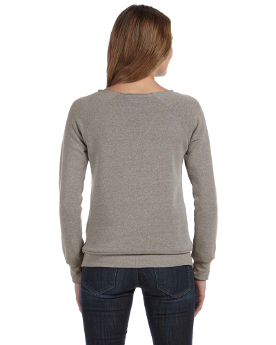 Ladies' 6.4 oz. Maniac Sweatshirt back Image