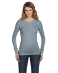 Ladies' Thermal Long-Sleeve T-Shirt front Thumb Image