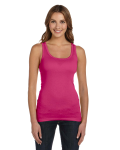 Ladies' Sheer Mini Rib Tank front Thumb Image