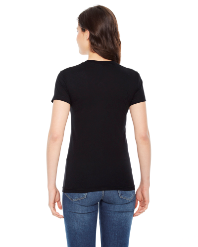 Ladies' 50/50 Short-Sleeve T-Shirt back Image