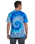5.4 oz., 100% Cotton Tie-Dyed T-Shirt back Thumb Image
