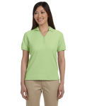 Pima Piqué Short-Sleeve Y-Collar Polo front Thumb Image