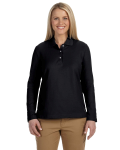 Pima Piqué Long-Sleeve Polo front Thumb Image