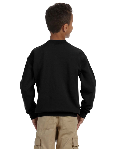 Youth Crewneck Sweatshirt back Image