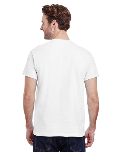 Ultra Cotton® Tall 6 oz. Short-Sleeve T-Shirt back Image