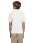 DryBlend® Youth 5.6 oz., 50/50 Jersey Polo back Thumb Image