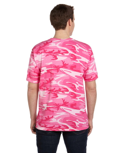 Adult Camouflage T-Shirt back Image