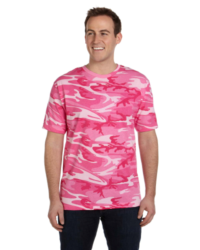 Adult Camouflage T-Shirt front Image