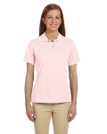 Ladies' Ringspun Cotton Pique Polo front Thumb Image