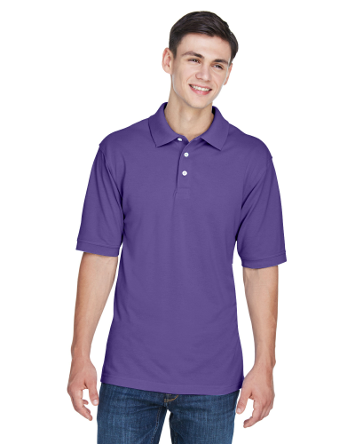 Men's Easy Blend Polo front Image