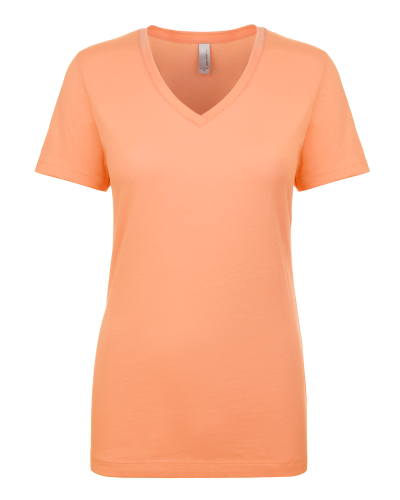 Ladies' Ideal V-Neck Tee front Image