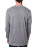Men's Premium Fitted Long-Sleeve Crew Tee back Thumb Image