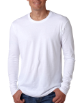 Men's Premium Fitted Long-Sleeve Crew Tee front Thumb Image