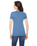 Ladies' Triblend Short-Sleeve T-Shirt back Thumb Image