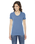Ladies' Triblend Short-Sleeve T-Shirt front Thumb Image