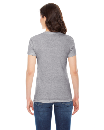 Ladies' Triblend Short-Sleeve T-Shirt back Image