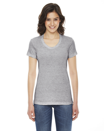 Ladies' Triblend Short-Sleeve T-Shirt front Image