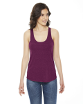 Ladies' Triblend Racerbank Tank Top front Thumb Image