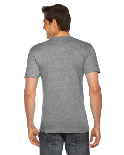 Triblend Short-Sleeve V-Neck T-Shirt back Image