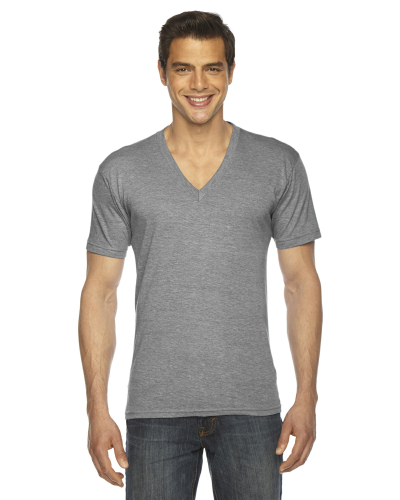 Triblend Short-Sleeve V-Neck T-Shirt front Image