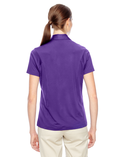 Ladies' Charger Performance Polo back Image