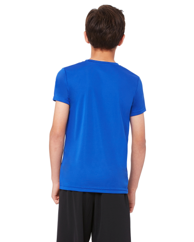 Youth Performance Short-Sleeve T-Shirt back Image
