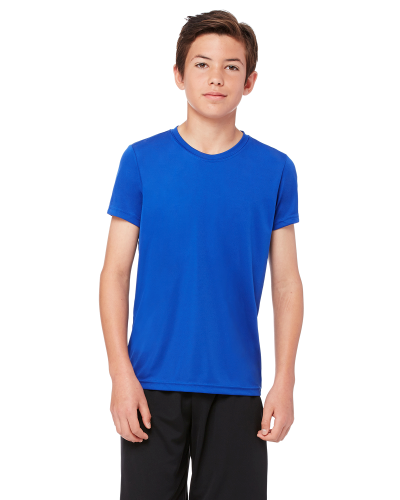 Youth Performance Short-Sleeve T-Shirt front Image