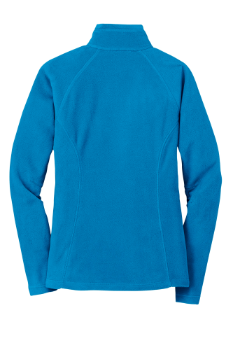 Ladies Full-Zip Microfleece Jacket back Image