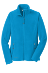 Ladies Full-Zip Microfleece Jacket front Thumb Image