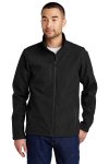 Shaded Crosshatch Soft Shell Jacket front Thumb Image