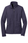 Ladies Shaded Crosshatch Soft Shell Jacket front Thumb Image