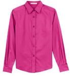 Coal Harbour® Ladies' Long Sleeve Easy Care Shirt front Thumb Image