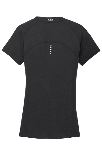 OGIO® ENDURANCE PULSE LADIES' V-NECK back Image