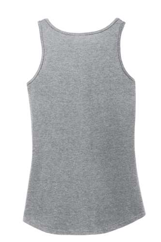 Port Company Ladies 100 Cotton Tank Top back Image