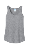 Port Company Ladies 100 Cotton Tank Top front Thumb Image