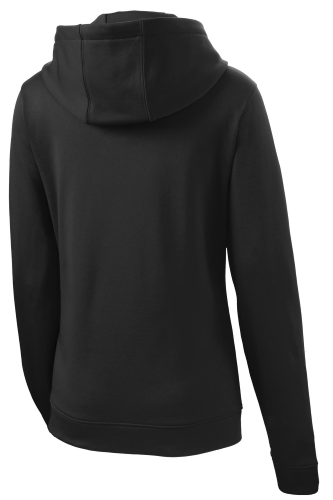 ATC™ GAME DAY™ FLEECE FULL ZIP HOODED LADIES' SWEATSHIRT. back Image