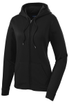 ATC™ GAME DAY™ FLEECE FULL ZIP HOODED LADIES' SWEATSHIRT. front Thumb Image