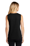 ATC™ PRO TEAM SLEEVELESS V-NECK LADIES' TEE. back Thumb Image