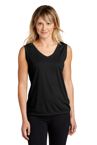 ATC™ PRO TEAM SLEEVELESS V-NECK LADIES' TEE. front Image