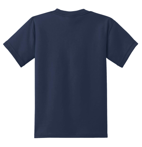 Port & Company Youth 50/50 Cotton/Poly T-Shirt back Image