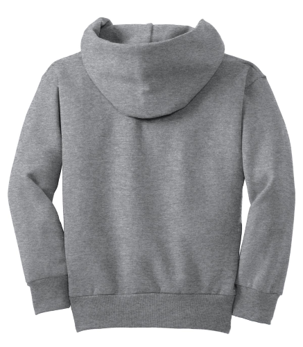 NEW! ATC™ YOUTH EVERYDAY FLEECE HOODED SWEATSHIRT back Image