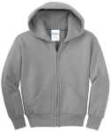 NEW! ATC™ EVERYDAY FLEECE FULL ZIP YOUTH HOODED SWEATSHIRT front Thumb Image